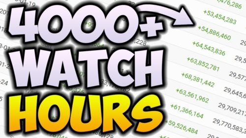 [Buy 4000 Watch Hours on Youtube]